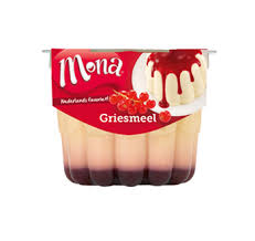 mona griesmeel pudding sport power food